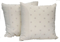 """Handwoven Hand Embroidered Cotton Pillow 4 Pakistan (20"""" x 20"""")"""