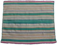 """Handwoven Woolen Blanket Frazada Peru (53"""" x 63"""")"""
