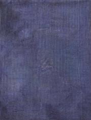 """Indigo Vat Dyed Kantha Quilt Blanket Vintage Sari  (62"""" x 84"""")"""