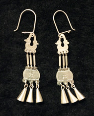 Handmade Silver Earrings Chile