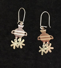 Handmade Silver Earrings  1 Chile