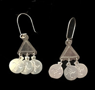 Handmade Silver Earrings 2 Chile