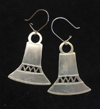Handmade Silver Earrings 3 Chile