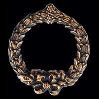 Wreath - Apply this emblem to any large urn
