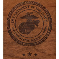 Marines Wood Engraving