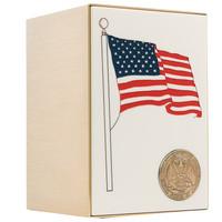 Flag Panel Bronze