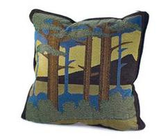 Pillow with Motawi Landscape Design