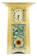 Handmade Tile Clock: Cherry Wood with Sunflower Tile