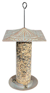 """Whitehall Products 12"""" Dragonfly Tube Feeder"""