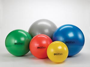 HYGENIC/THERA-BAND PRO SERIES SCP EXERCISE BALLS
