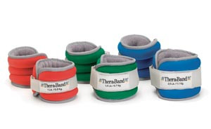 HYGENIC/THERA-BAND COMFORT FIT ANKLE & WRIST WEIGHT SETS