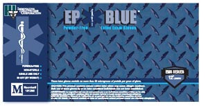 INNOVATIVE DERMASSIST EP BLUE POWDER-FREE LATEX MEDICAL GLOVES