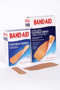 J&J BAND-AID FLEXIBLE FABRIC ADHESIVE BANDAGES