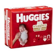 KIMBERLY-CLARK HUGGIES DISPOSABLE DIAPERS