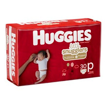 KIMBERLY-CLARK HUGGIES LITTLE SNUGGLERS DIAPERS