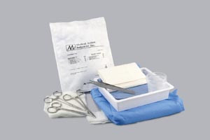 MEDICAL ACTION LACERATION TRAY
