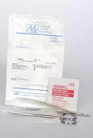 MEDICAL ACTION SUTURE REMOVAL KITS