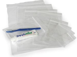 NEW WORLD IMPORTS RECLOSABLE BAGS