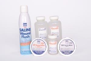 NURSE ASSIST STERICARE SALINE & WATER