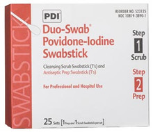 PDI PVP IODINE SWABSTICK