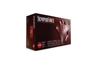 SEMPERMED SEMPERFORCE NITRILE EXAM POWDER FREE TEXTURED GLOVE