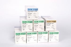 SURGICAL SPECIALTIES LOOK OFFICE & PLASTIC SURGERY SUTURES