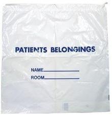 SOLOS PATIENT BELONGING BAGS - PBB1820W - CASE