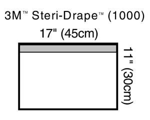 3M STERI-DRAPE TOWEL DRAPES