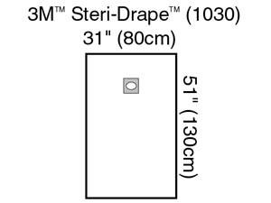 3M STERI-DRAPE OPHTHALMIC SURGICAL DRAPES