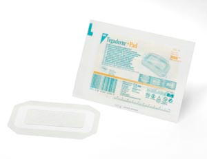 3M TEGADERM + PAD FILM DRESSING WITH NON-ADHERENT PAD