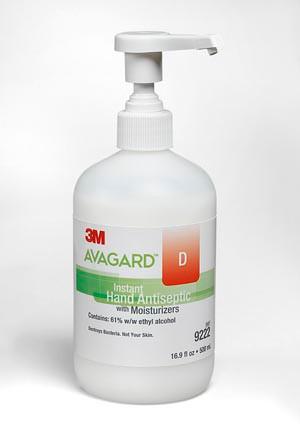 3M AVAGARD D INSTANT HAND ANTISEPTIC