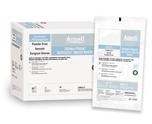 ANSELL GAMMEX NON-LATEX PI MICRO WHITE SURGICAL GLOVES