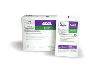 ANSELL ENCORE POWDER-FREE STERILE SURGICAL GLOVES