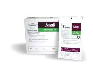ANSELL ENCORE ACCLAIM POWDER-FREE LATEX SURGICAL GLOVES