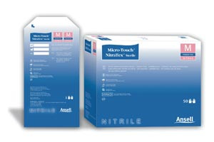 ANSELL MICRO-TOUCH NITRATEX STERILE EXAM GLOVES