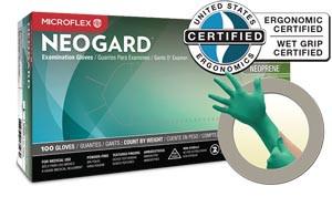 ANSELL MICROFLEX NEOGARD POWDER-FREE MEDICAL-GRADE CHLOROPRENE EXAM GLOVES