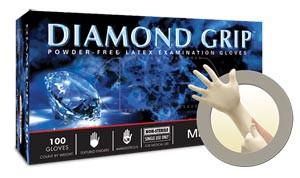 ANSELL MICROFLEX DIAMOND GRIP POWDER-FREE LATEX EXAM GLOVES