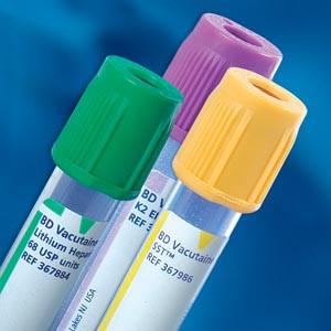 BD VACUTAINER PLUS PLASTIC BLOOD COLLECTION TUBES (BD SST)