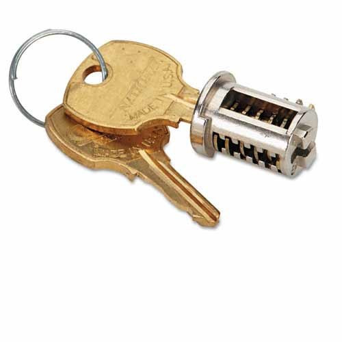 New Lock Core And Key Replacements For File Cabinets