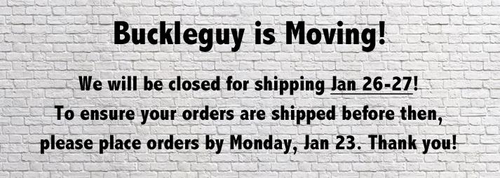 Buckleguy is moving