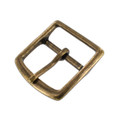 G10549 40mm Antique Brass, Center Bar Buckle, Brass