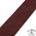 Clayton's Chestnut Leather Strap