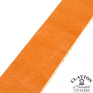 Clayton's London Tan Leather Strap