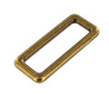 "B7097  1 3/4"" Antique Brass, Single Loop, Solid Brass-LL"