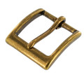 "T2379 1 1/4"" Antique Brass, Heel Bar Buckle, Solid Brass-LL"