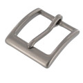 "T2379 1 1/4"" Nickel Matte, Heel Bar Buckle, Solid Brass-LL"