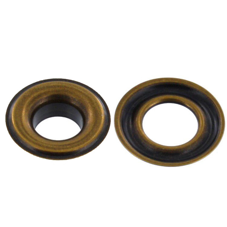 grommet 3 8 eyelet 2 antique brass solid brass ll 100 per