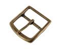G10550 45mm Antique Brass, Center Bar Buckle, Solid Brass