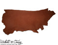 Wickett & Craig Skirting Leather, Side, Brown