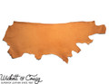 Wickett & Craig Skirting Leather, Side, Russet